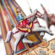 KÖRHINTA lovasokkal - hasonmás német lemezjáték - elsősorban gyűjtőknek