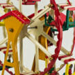 Ferris-wheel german tin toy DBS