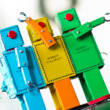 LILIPUT ROBOT Replica tin toy