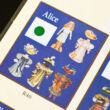 Aliz papír öltöztetőbaba szett celofán csomagolásban