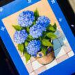 Kertészkedés öröme - ültetés- változó képeslap