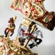 Vidámparki nosztalgia körhinta - zenélő ajándéktárgy