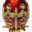 FABERGE tojás hasonmás - zenélő ajándéktárgy