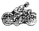 motoros lemezjatek futar
