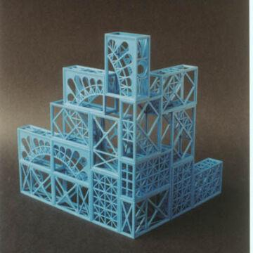 Eiffel design építő társasjáték - Angol nyelvű