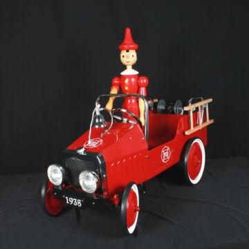 Pedálos tűzoltóautó