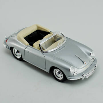 Álomautó    PORSCHE 356B Cabrio  modellautó   1:24