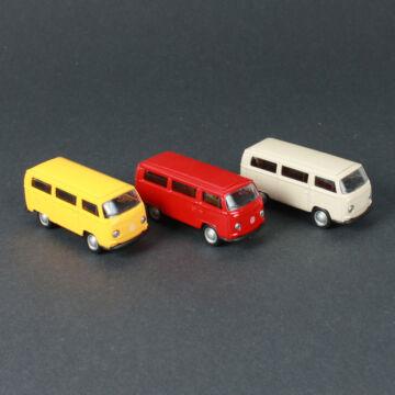 VW Volkswagen busz , T2 - modellautó 1:60