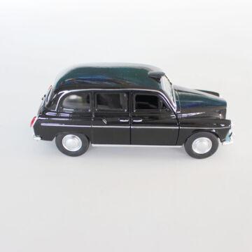 London taxi FX4 modellautó 12cm  -  FEKETE