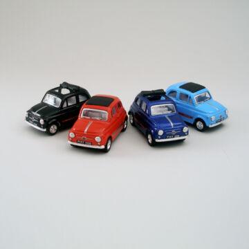 Fiat 500  modellautó fémből 1:48