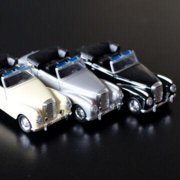 MercedesBencz 300SL Cabrio  oldtimer modellautó  1:34
