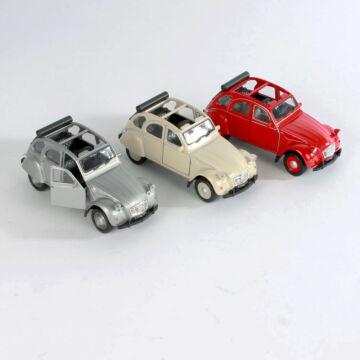 Citroen 2CV Kacsa Cabrio  modellautó 1:34