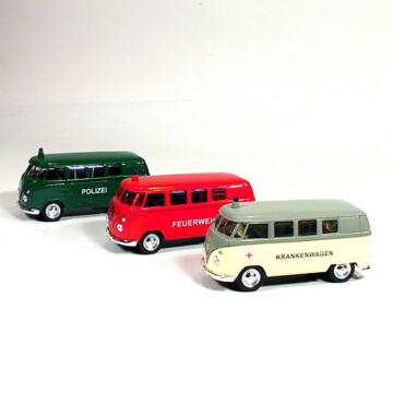 VW  Volkswagen Mikrobusz  ( 1962 )   modellautó  1:34