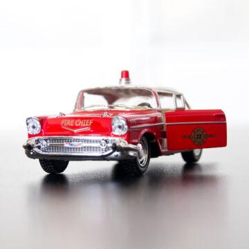 Chevrolet Bel Air tűzoltóautó 1:40