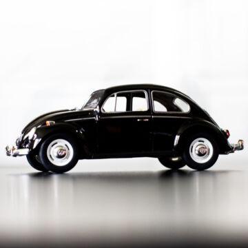 VW Bogár 1967 - modellautó (Fekete) 1:24