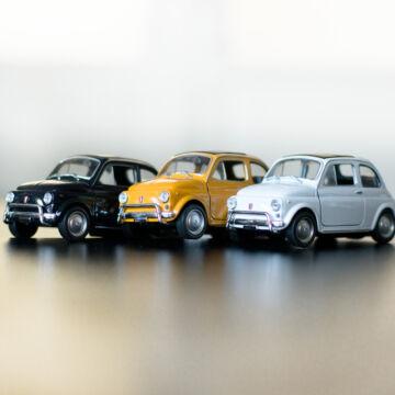 Fiat Nuova 500 - modellautó 1:34