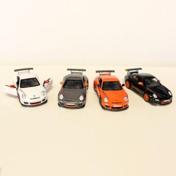PORSCHE 911 modellautó 4 féle színben 1:36 méretarányban