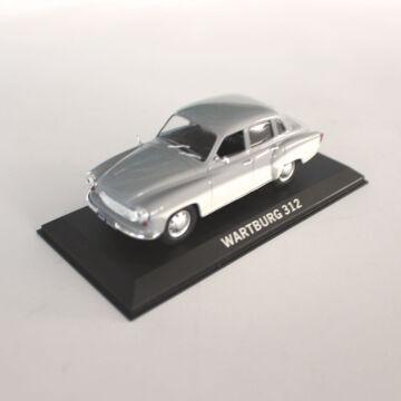 Wartburg 312 modellautó   - 10cm hosszú