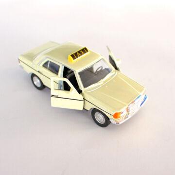 Mercedes Benz W123  Taxi változatban  -  modellautó -  1:34