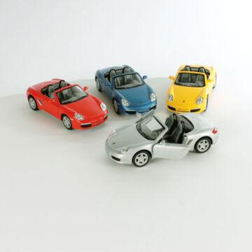 Porsche Boxster S - modellautó 1:34