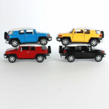 Toyota FJ Cruiser - modellautó - FEKETE SZÍNBEN