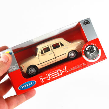 Fiat 125P (11 cm)  ablakos dobozban