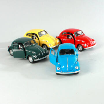 VW  VOLKSWAGEN Bogár Käfer ( 1960 ) - modellautó -  1:34