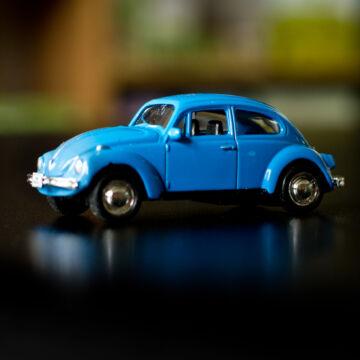 VW Volkswagen Bogár  modellautó  1:6064