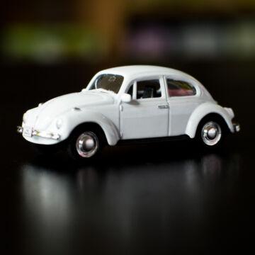 VW Bogár - modellautó 1:60