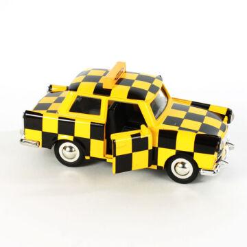 Kockás Trabant  modellautó