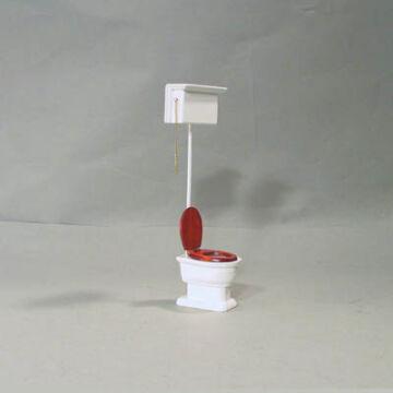 Toalett  babaház kellék