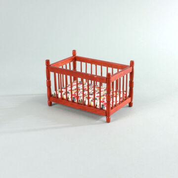 Gyermekágy  babaház bútor