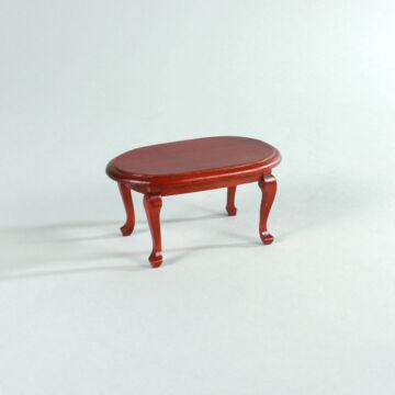 Ovális asztal  babaház bútor