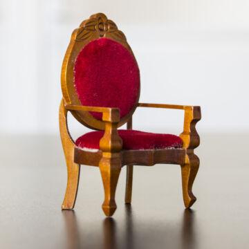 Karosszék  babaház bútor