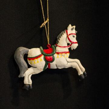 Lovacska - függeszthető lemez karácsonyfadísz