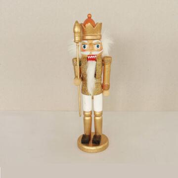 Diótörő király  arany (25 cm)