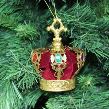 Császári Korona  Karácsonyfadísz  13,5 cm