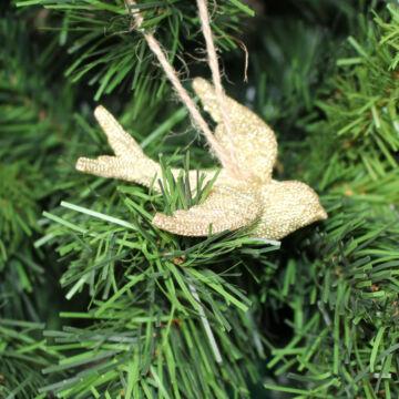 Arany madár  karácsonyfadísz