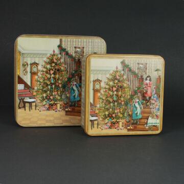 Zeneszoba - karácsonyi díszdoboz szett