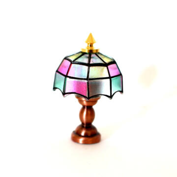 Tiffany lamp for dollshouse