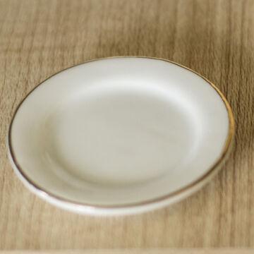 Porcelántányér - babaház kellék