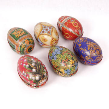 Fabergé tojás szett - Imperial design - 6 db