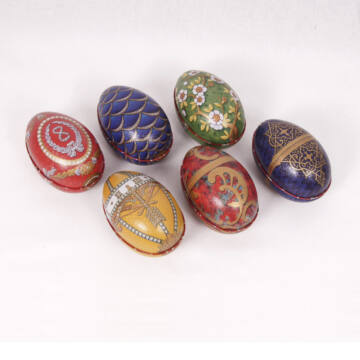 Fabergé lemeztojások  Regal design
