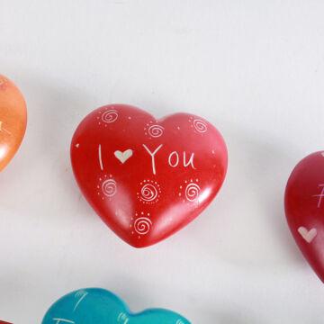 Feliratos szívek - többféle