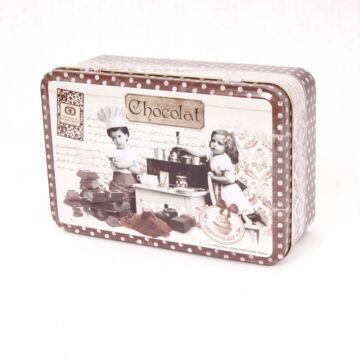 Fedeles csokimintás fémdoboz - Dora Papis design