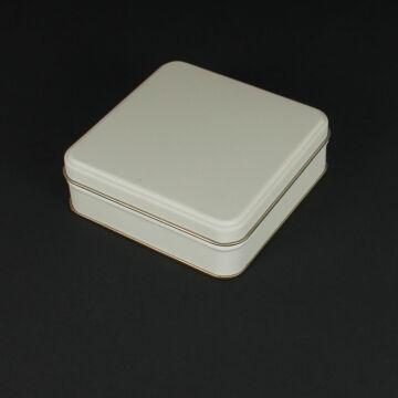 Bézs lemez doboz  kicsi
