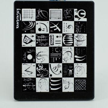 Tologatós puzzle Kandinszkyművekkel illusztrálva