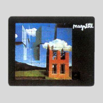 MARGRITTE festmény  tologatós puzzle