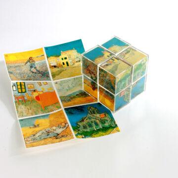 VAN GOGH  művészeti kocka puzzle