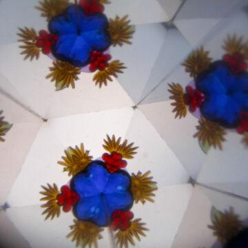 Kaleidoszkóp  régi játékok motivummal